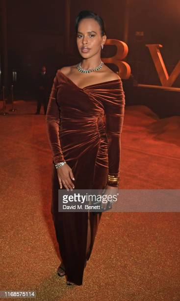 Sabrina Dhowre Elba attends the Bvlgari Serpenti Seduttori launch at the Roundhouse on September 15 2019 in London England