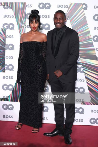 Sabrina Elba and Idris Elba attend the GQ Men Of The Year Awards 2021 at Tate Modern on September 1, 2021 in London, England.