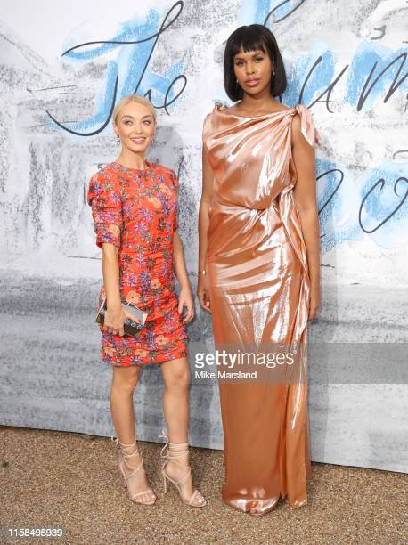 Sabrina Elba attends The Summer Party 2019 Presented By Serpentine Galleries And Chanel at The Serpentine Gallery on June 25 2019 in London England