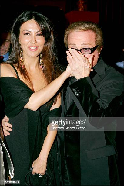 Sabrina Ferilli and Orlando at Dalida TV Film Tribute To The Singer