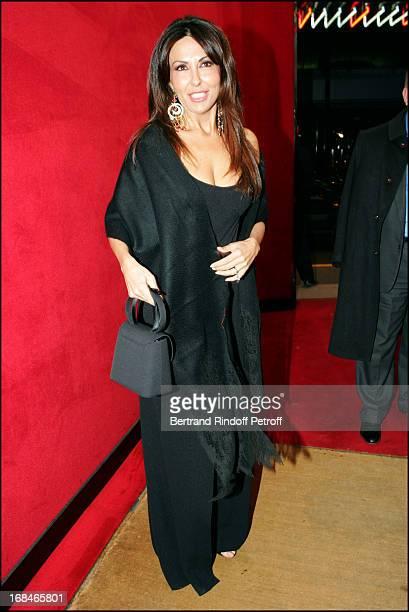 Sabrina Ferilli at Dalida TV Film Tribute To The Singer