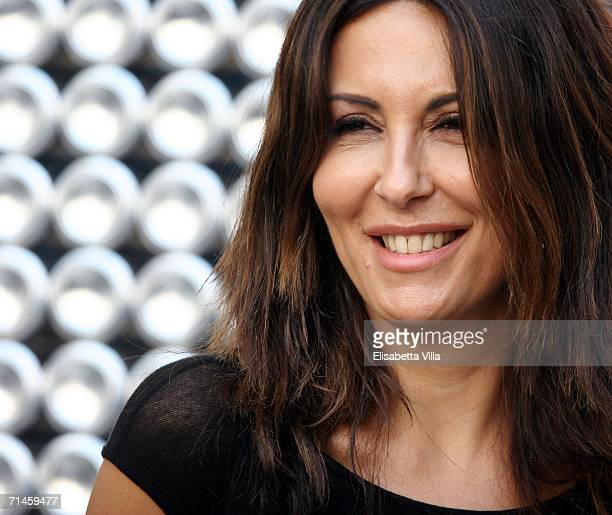 Sabrina Ferilli attends the Giffoni Film Festival July 16 2006 in Giffoni Italy