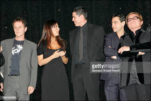 Sabrina Ferilli Charles Berling Alessandro Gassman and Arnaud Giovaninetti and Orlando at Dalida TV Film Tribute To The Singer