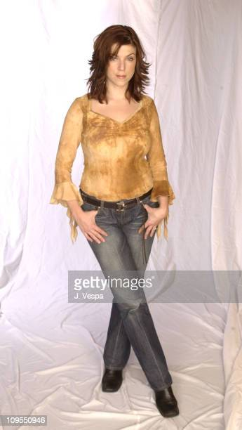 Sabrina Grdevich from the film Lola during 2002 Sundance Film Festival Lola Portraits at Harry O's in Park City Utah United States