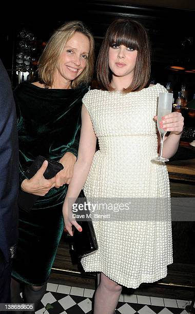 Sabrina Guinness and Alexandra Roach attend The Weinstein Company Dinner Hosted By Grey Goose in celebration of BAFTA at Dean Street Townhouse on...