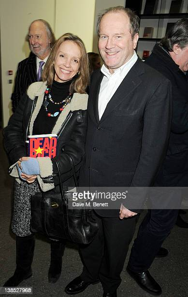 Sabrina Guinness attends the launch of Louise Fennell's debut novel Dead Rich at White Cube on February 8 2012 in London England
