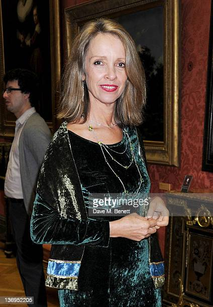 Sabrina Guinness attends the official UK launch of the Gift Of Life Foundation at The Wallace Collection on January 13 2012 in London England