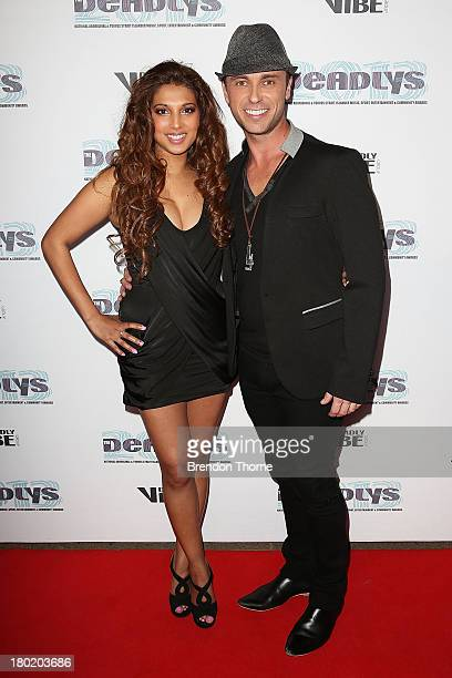 Sabrina Hassen and Nathan Foley arrive at the 2013 Deadly Awards at the Sydney Opera House on September 10 2013 in Sydney Australia The Deadly Awards...