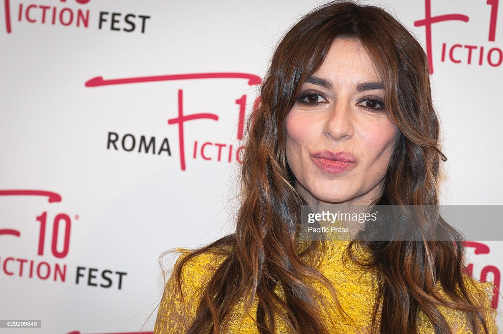 "Sabrina Impacciatore attends a red carpet for ""Immaturi - La... : Nyhetsfoto"