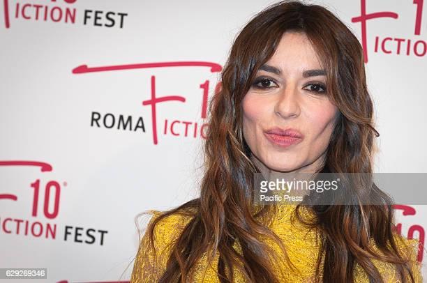 "Sabrina Impacciatore attends a red carpet for ""Immaturi - La Serie"" during the Roma Fiction Fest 2016."