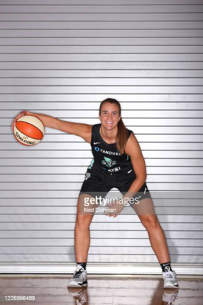 Sabrina Ionescu of the New York Liberty poses for a portrait during Media Day on July 13 2020 at IMG Academy in Bradenton Florida NOTE TO USER User...