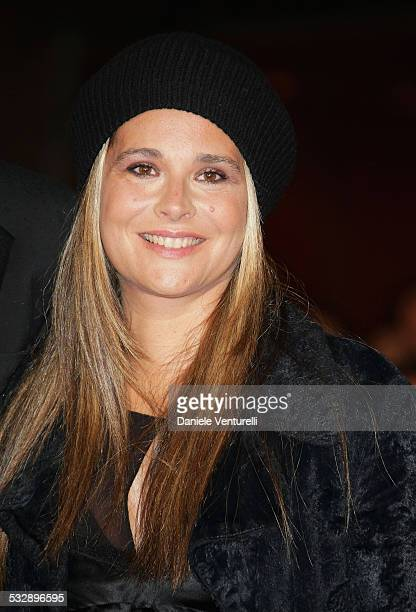 Sabrina Knaflitz attends the 'Un Principe Chiamato Toto' premiere during Day 6 of the 2nd Rome Film Festival on October 23 2007 in Rome Italy