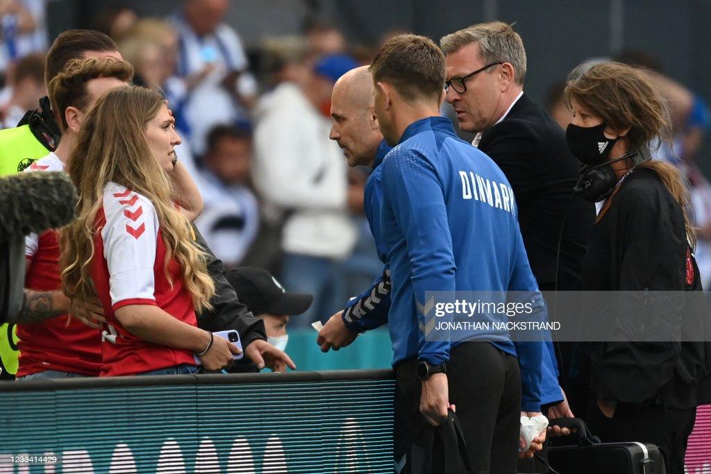 Sabrina Kvist Jensen Partner Of Denmark S Midfielder Christian News Photo Getty Images