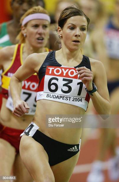 Sabrina Mockenhaupt of Germany in action in the 3000 metres Heats during the IAAF World Indoor Championships at the Budapest SportArena on March 5...