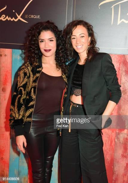 Sabrina Ouazani and Janane Boudili attend 39th 'Festival Mondial Du Cirque de Demain' Awards Ceremony At Cirque Phenix on February 4 2018 in Paris...