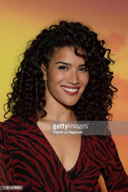 Sabrina Ouazani attends The Lion King Paris Gala Screening At Le Grand Rex on July 11 2019 in Paris France