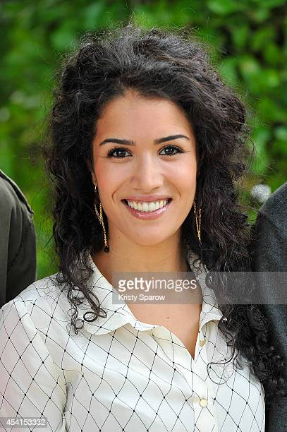 Sabrina Ouazani attends the 'Qu'Allah Benisse La France' Photocall at Hotel Mercure during the 7th Angouleme FrenchSpeaking Film Festival on August...