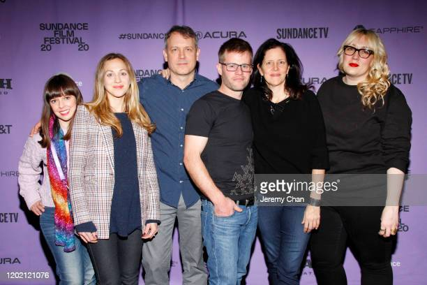 Sabrina Parke Eve Marson Brian Knappenberger Adam Steed Laura Poitras and Charlotte Cook attend the 2020 Sundance Film Festival Documentary Shorts...