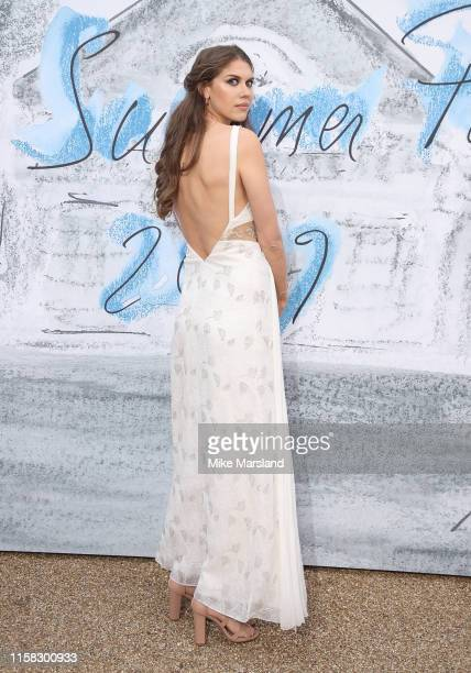 Sabrina Percy attends The Summer Party 2019 Presented By Serpentine Galleries And Chanel at The Serpentine Gallery on June 25 2019 in London England