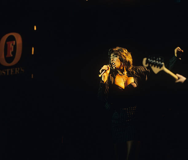 Sabrina Performs On Stage