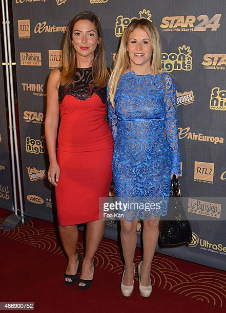 Sabrina Perquis and Natacha Sinsek attend the '35th Nuit des Publivores' at Grand Rex September 17 2015 in Paris France