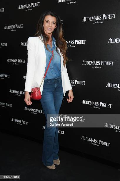 Sabrina Pesca attends The Art Projects By Audemars Piguet Presentation on March 29 2017 in Milan Italy