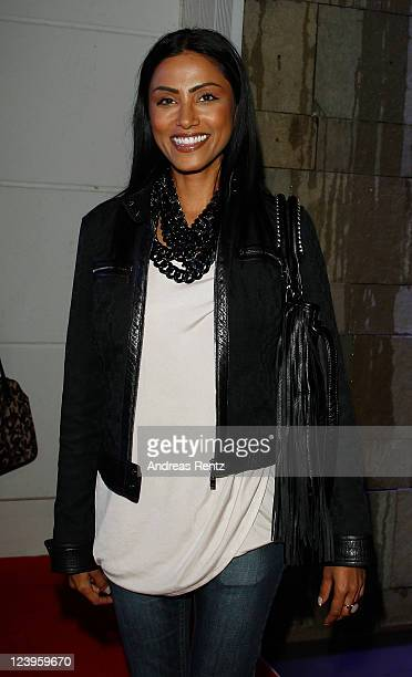 Sabrina Setlur arrives for the the 'IBIZA TO BERLIN' party at Spindler Klatt on September 6 2011 in Berlin Germany