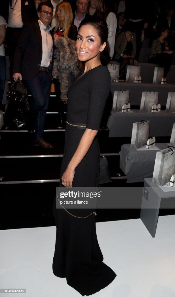 buy online fe0be e169d Sabrina Setlur attends the Guido Maria Kretschmer fashion ...