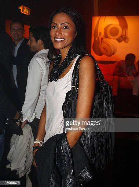 Sabrina Setlur attends the the 'IBIZA TO BERLIN' party at Spindler Klatt on September 6 2011 in Berlin Germany