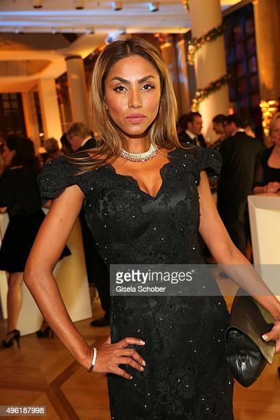 Sabrina Setlur during the German Sports Media Ball at Alte Oper on November 7 2015 in Frankfurt am Main Germany