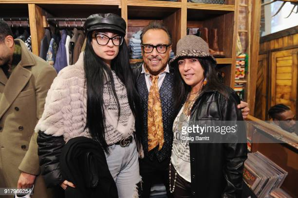 Sabrina Stanciu GG and Ivy Supersonic attend Vintage For The Future A Norma Kamali Retrospective by What Goes Around Comes Around on February 13 2018...
