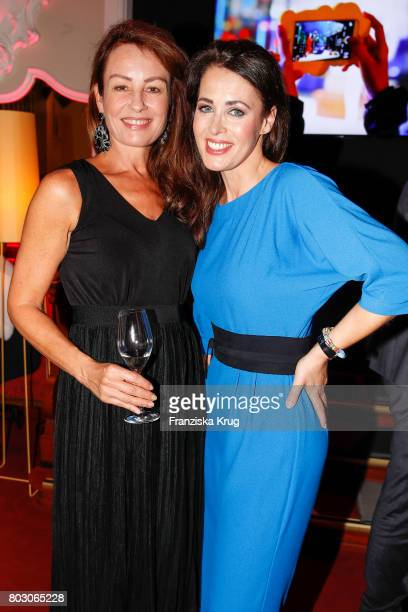 Sabrina Staubitz and Annika de Buhr attend the Emotion Award at Laeiszhalle on June 28 2017 in Hamburg Germany