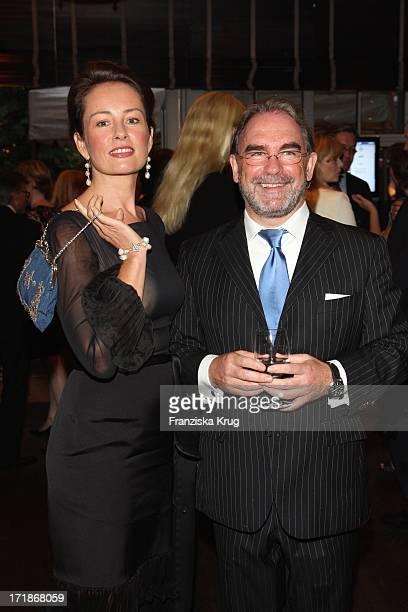 Sabrina Staubitz And Klaus Ebert In The 'Media Night' On The Siillberg In Hamburg On 290808