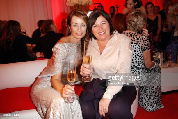Sabrina Staubitz and Vera IntVeen attend the Mon Cheri Barbara Tag 2017 at Postpalast on November 30 2017 in Munich Germany