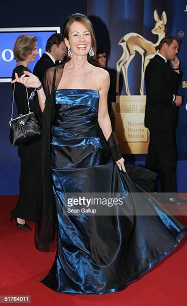 Sabrina Staubitz arrives at the Bambi Awards 2004 at the Theater im Hafen on November 18 2004 in Hamburg Germany