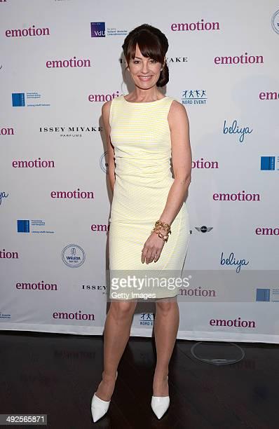 Sabrina Staubitz attends Emotion Award 2014 at Emporio Tower on May 20 2014 in Hamburg Germany