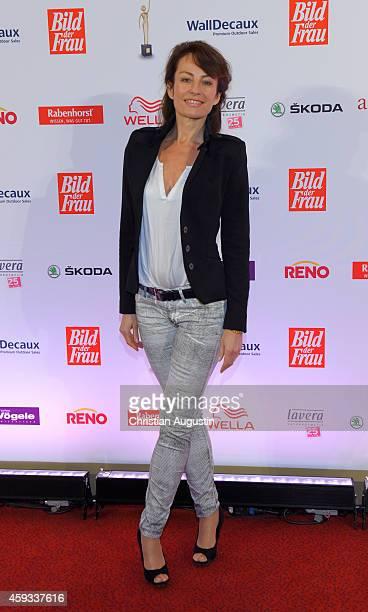 Sabrina Staubitz attends the 'Goldene Bild Der Frau' Award 2014 at TUI Operettenhaus on November 20 2014 in Hamburg Germany