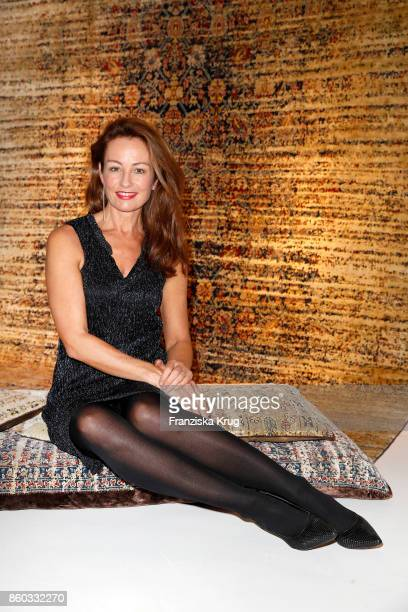 Sabrina Staubitz attends the Jan Kath Showroom Opening on October 11 2017 in Hamburg Germany
