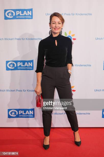 Sabrina Staubitz attends the Ulrich Wickert and Peter SchollLatour award at Bar jeder Vernunft on September 27 2018 in Berlin Germany