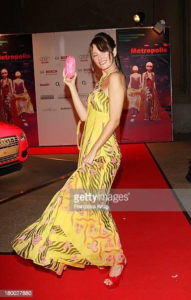 Sabrina Staubitz Bei Der '2Nd International Fashion Night Munich' Am 030907 In München