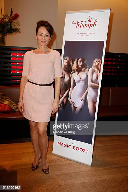 Sabrina Staubitz durings the Triumph Inspires Edition 2 Hosted By Laura Chaplin on March 02 2016 in Hamburg Germany