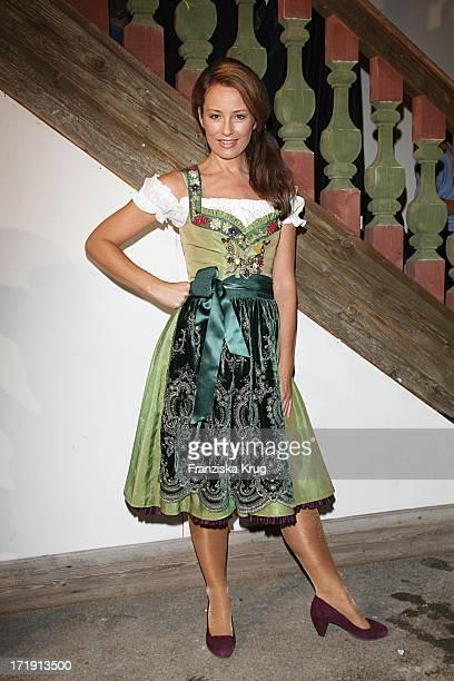 Sabrina Staubitz Im Käfer Zelt Beim Oktoberfest In München