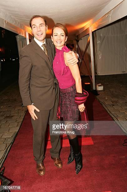 Sabrina Staubitz Mit Ehemann Wolfram Winter Bei Der Verleihung Der Gq Men Of The Year 2004 Awards Im Kaisersaal Der Residenz In München Am 111104