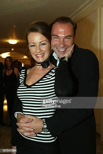 Sabrina Staubitz Mit Ehemann Wolfram Winter Beim 8 Gala Spa Award Im Hotel Brenners In BadenBaden