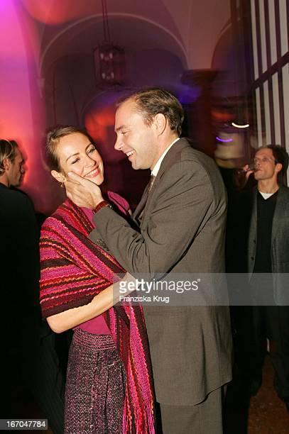 Sabrina Staubitz Und Ehemann Wolfram Winter Bei Der Verleihung Der Gq Men Of The Year 2004 Awards Im Kaisersaal Der Residenz In München Am 111104