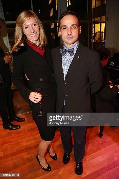 Sabrina Wirt and Leslie Sardinas attend the Luz de Luna Piano Violin and Dance Concert at Carnegie Hall on November 3 in New York City