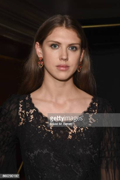 Sabrna Percy attends the The BARDOU Foundation's International Day Of The Girl Gala in support of The Princes Trust at Albert's Club on October 11...
