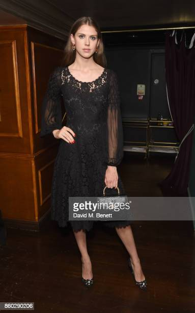 Sabrna Percy attends the The BARDOU Foundation's International Day Of The Girl Gala in support of The Princes Trust at Albert's Club on October 11,...