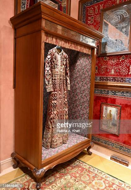Sabyasachi couture ensemble on display at Sabyasachi Jewelry Indian fashion and jewelry designer Sabyasachi's first flagship jewelry store in the...