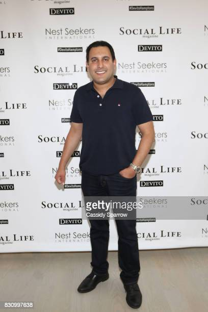 Sach Chopra attends the Social Life Magazine Nest Seekers August Issue Party on August 12 2017 in Southampton New York